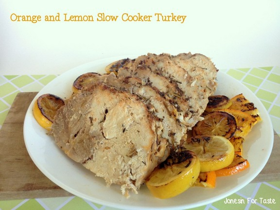 Orange Lemon Slow Cooker Turkey recipe photo