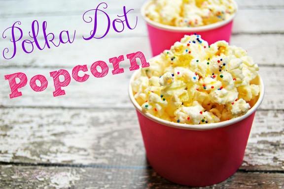 Polka Dot Popcorn recipe