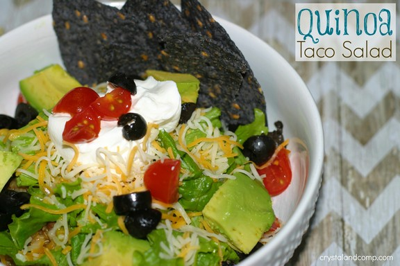 Quinoa Taco Salad recipe