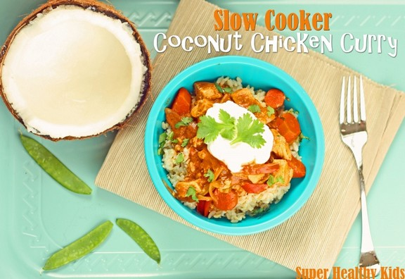 Slow Cooker Coconut Chicken Curry recipe photo