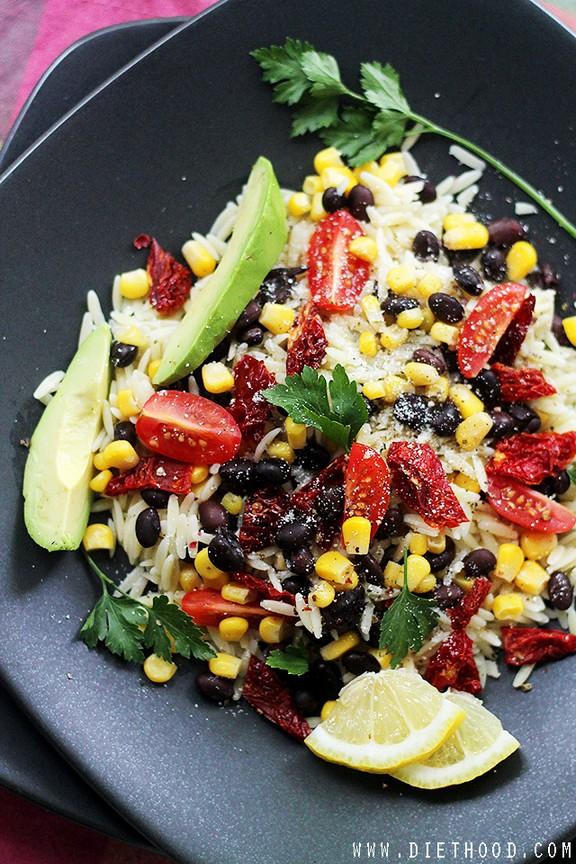 Southwestern Orzo Salad recipe