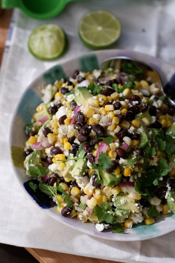 Summer Black Bean and Corn Salad recipe
