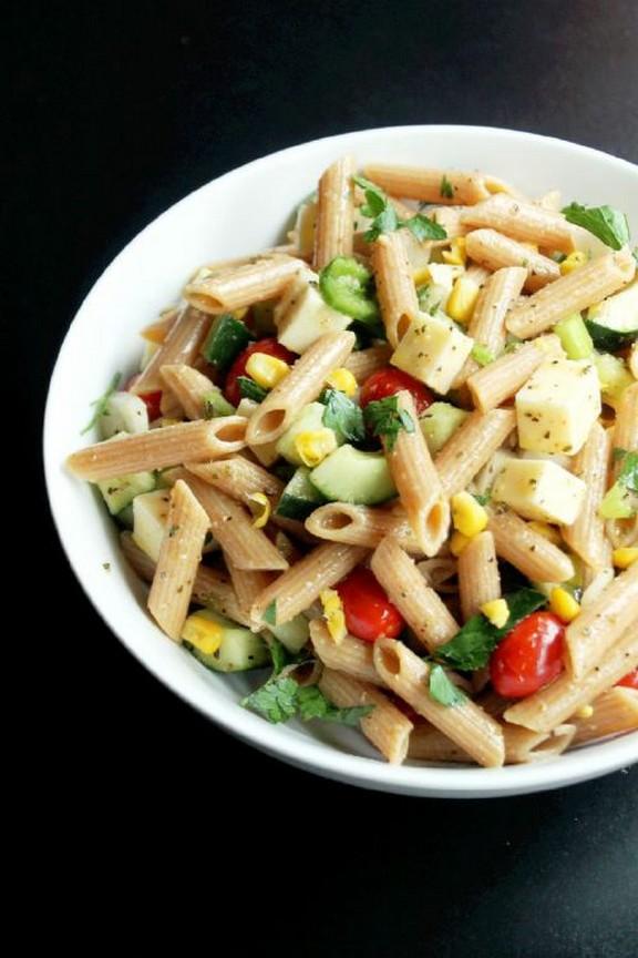 Veggie Italian Pasta Salad recipe