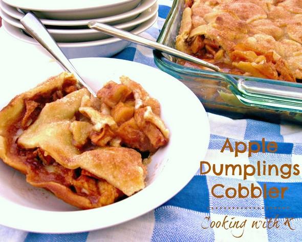 Apple Dumplings Cobbler recipe picture