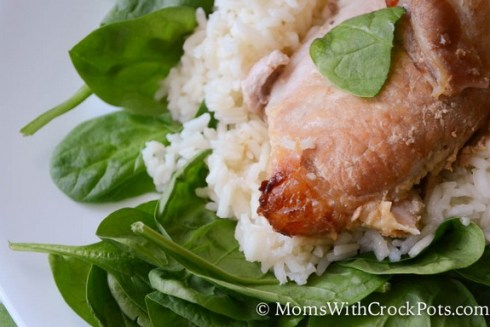 Crock Pot Brown Sugar Pork Chops recipe