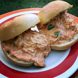 Crock Pot Buffalo Chicken Sliders recipe