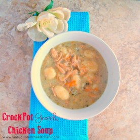 Crock Pot Gnocchi Chicken Soup recipe