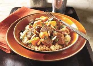 Crock-Pot Moroccan Beef and Sweet Potato Stew recipe