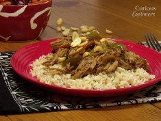 Crock Pot Thai Peanut Pork recipe