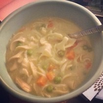 Crockpot Creamy Chicken and Noodles recipe