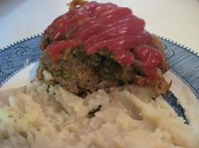 Crockpot Meatloaf and Potatoes recipe