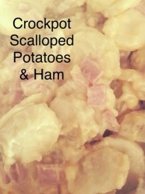 Crockpot Scalloped Potatoes & Ham recipe