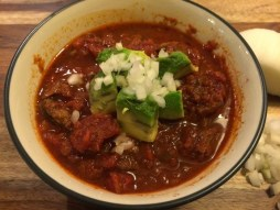 Crockpot Steak Chili recipe
