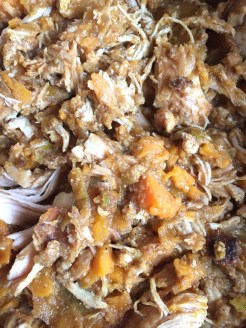 Crockpot Sweet Potato Apple Curry with Chicken recipe