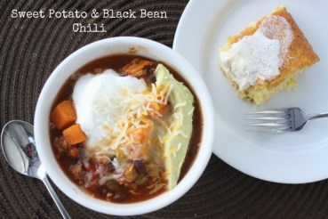 Crockpot Sweet Potato and Black Bean Chili recipe