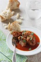 Crockpot Tex-Mex Meatballs recipe