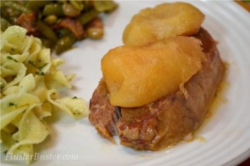 Easy Crock Pot Pork Chops and Pears recipe