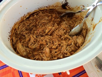Easy Crock Pot Pulled BBQ Chicken recipe