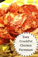 Easy CrockPot Chicken Parmesan recipe