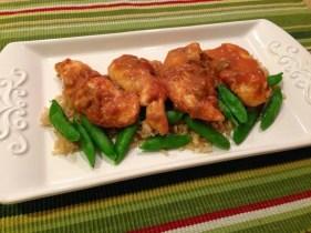 Low-Point Crockpot Salsa Chicken recipe