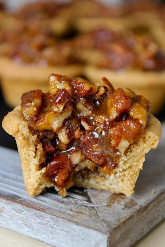 Pecan Pie Bites by The BakerMama