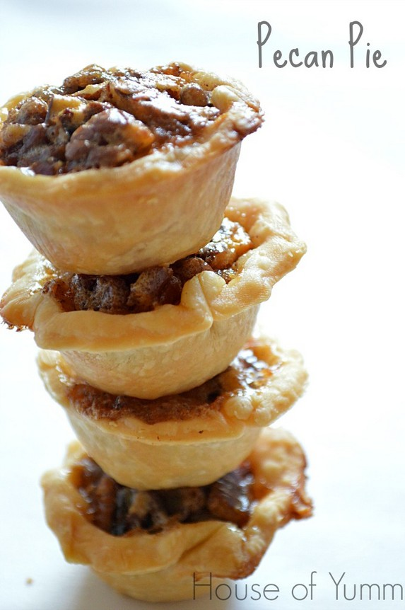 Small Pecan Pies by House of Yumm