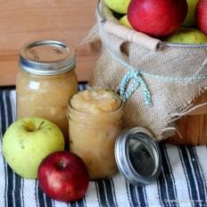 Sugar-Free Crock-Pot Applesauce recipe