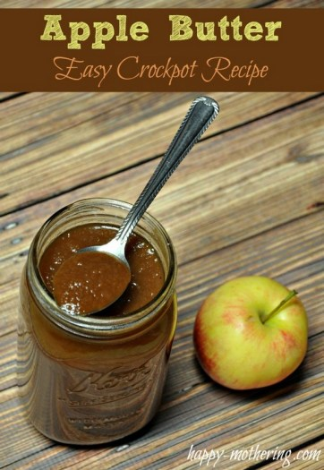 Super Easy Crockpot Apple Butter recipe