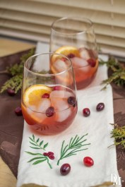 Bourbon Christmas Punch from Domestic Mixologist