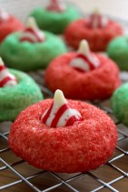 Candy Cane Blossoms by Baked Perfection
