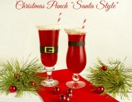Christmas Punch-Santa Style from The Bearfoot Baker