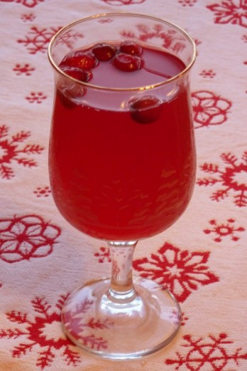 Christmas Punch from A Savory Table