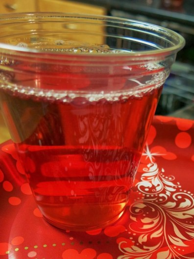 Cranberry Christmas Punch from Egg Allergy Cooking