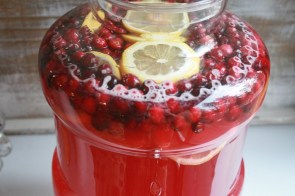 Festive Holiday Punch by Nesting Corral