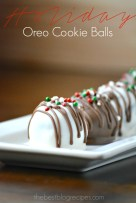Holiday Oreo Cookie Balls by The Best Blog Recipes
