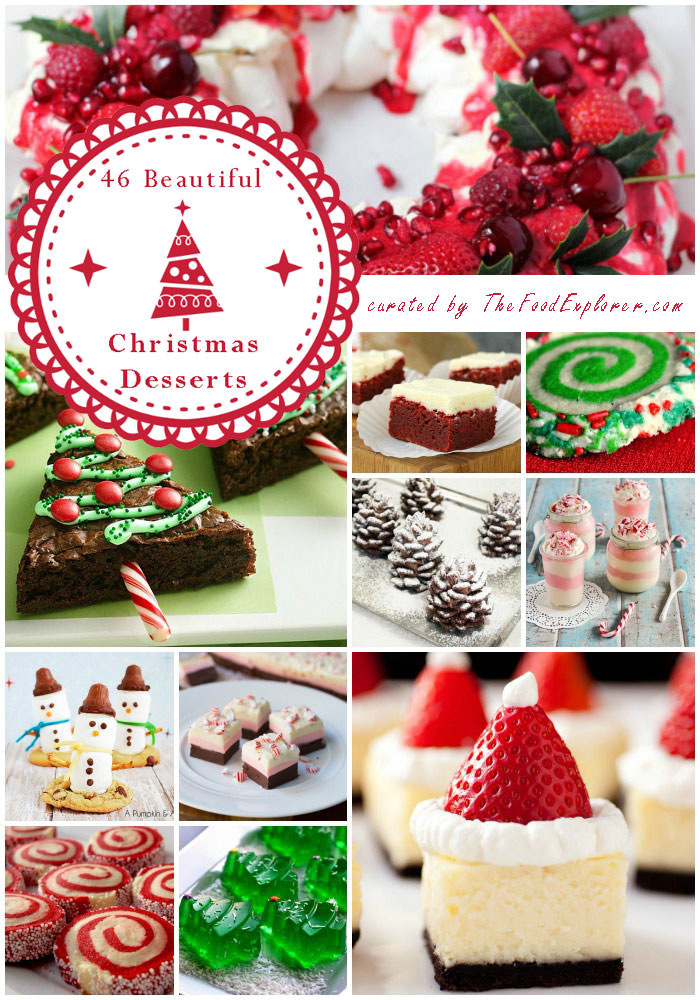 the most beautiful and easy 46 christmas desserts on the. Black Bedroom Furniture Sets. Home Design Ideas