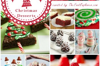 The Most Beautiful (and Easy) 65 Christmas Desserts on the Net (curated by The Food Explorer)