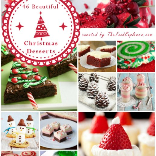 the most beautiful and easy 46 christmas desserts on the net - Christmas Desserts Easy