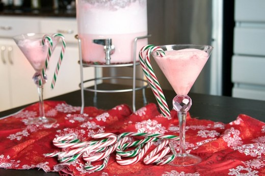 Strawberry Jelly Christmas Punch from Live Love Pasta