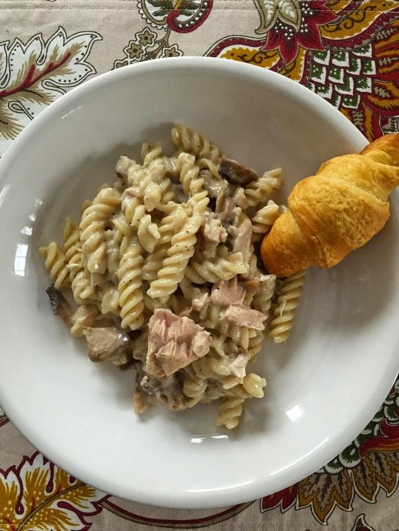 Crockpot Tuna Casserole