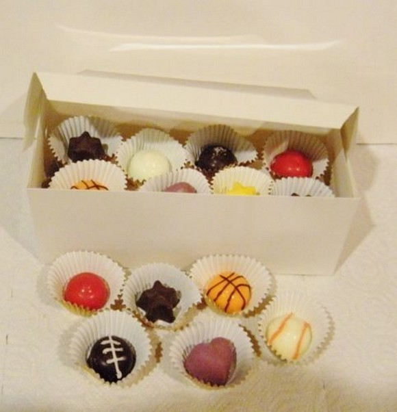 Homemade Cream-Filled Chocolates