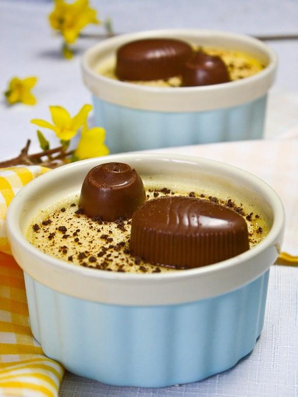 Lemon Pots de Creme and Creme Filled Chocolates