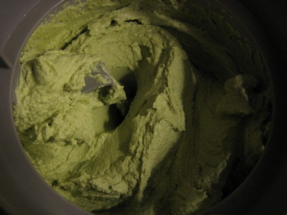 Green Tea Frozen Yogurt