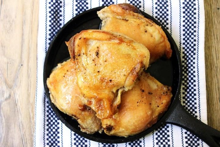 Crisp & Juicy Slow Cooker Chicken