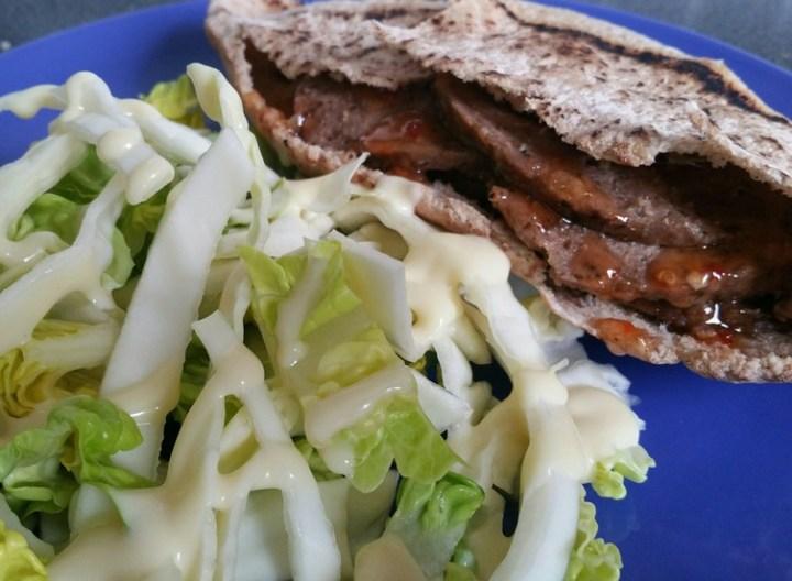 Slow Cooker Lamb Doner Kebab