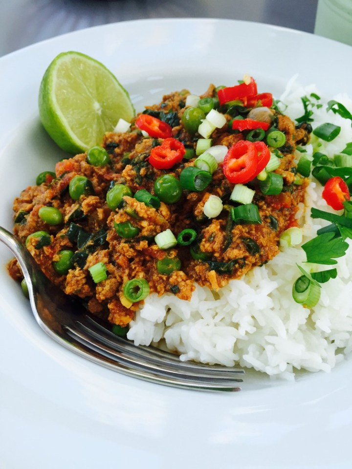 Slow Cooker Turkey Keema