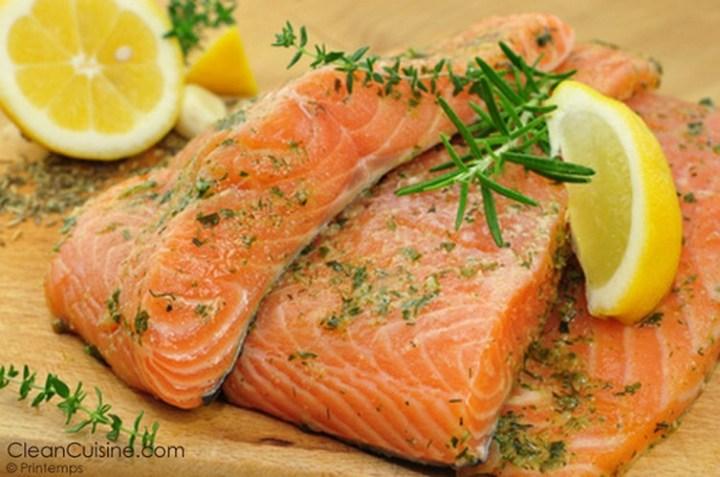 Slow Cooker Citrus Salmon