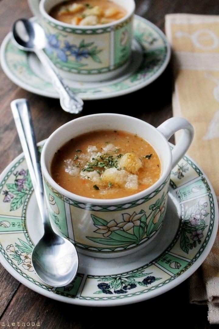Slow Cooker Leek & Potato Soup