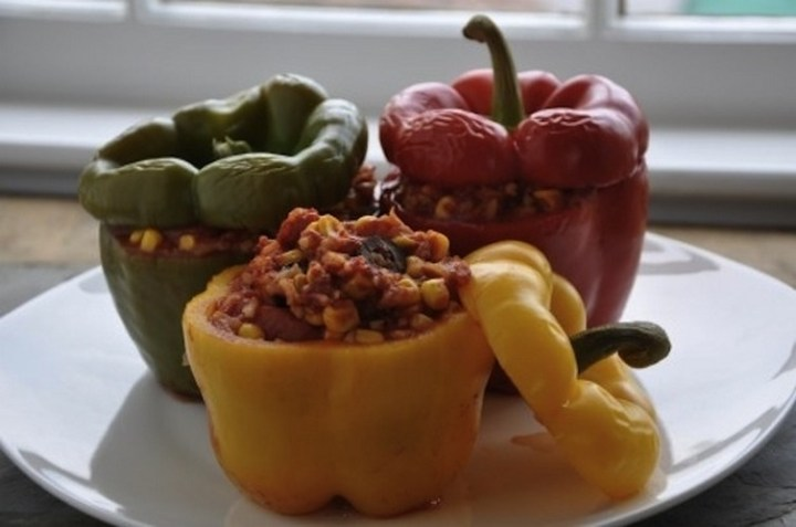 Vegetable-Stuffed Peppers