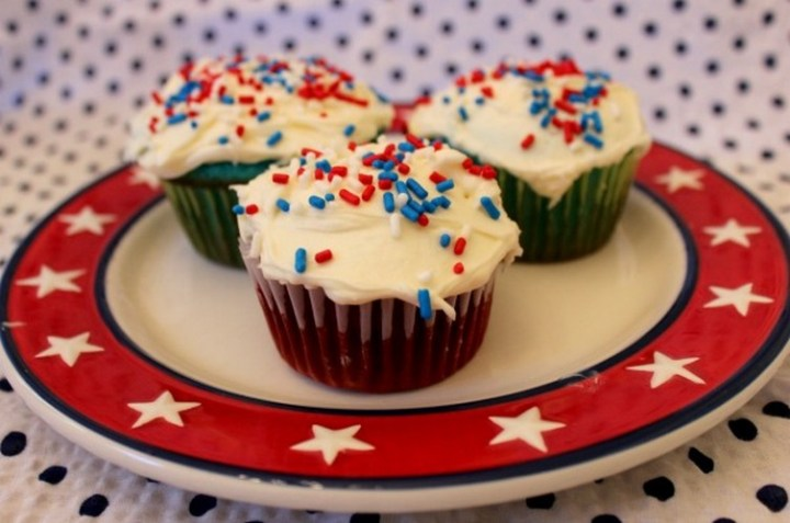 4th of July Dessert Cupcakes